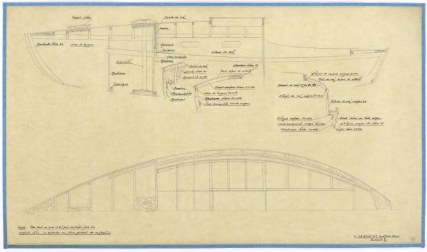 PLAN DE CONSTRUCTION - GRONDIN (1946)