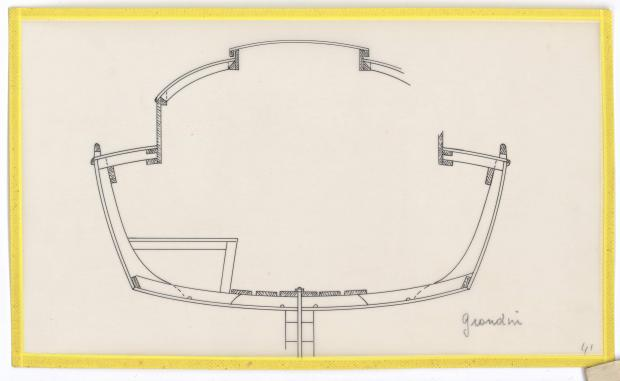 PLAN D'AMENAGEMENT  - GRONDIN (1946)