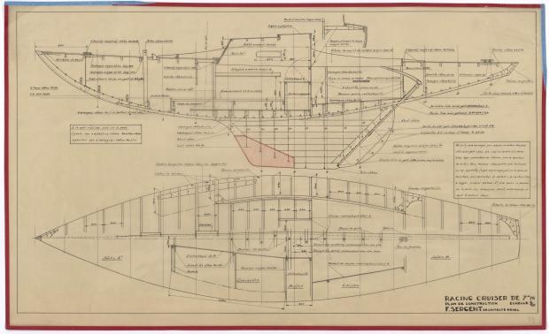 PLAN DE CONSTRUCTION - RACING CRUISER (1946)