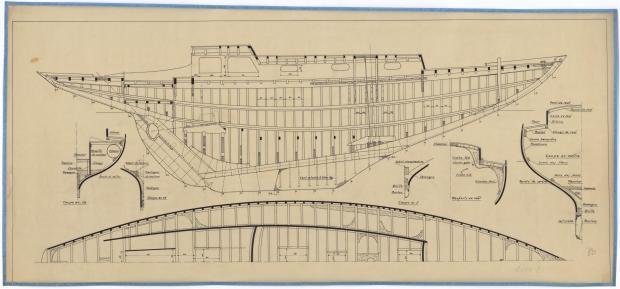 PLAN DE CONSTRUCTION - LOTTE 2 (1947)