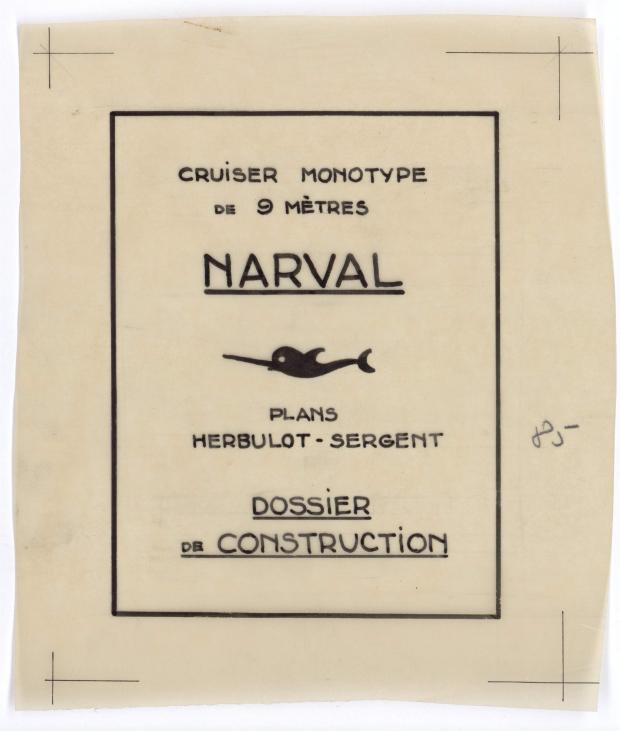 ETIQUETTE - NARVAL (1948)