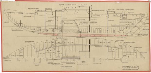 PLAN DE CONSTRUCTION - OUF (1950)