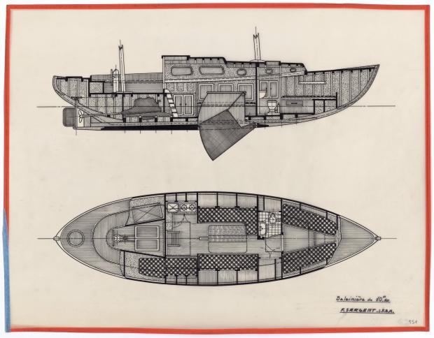 PLAN D'AMENAGEMENT  - OUF (1950)