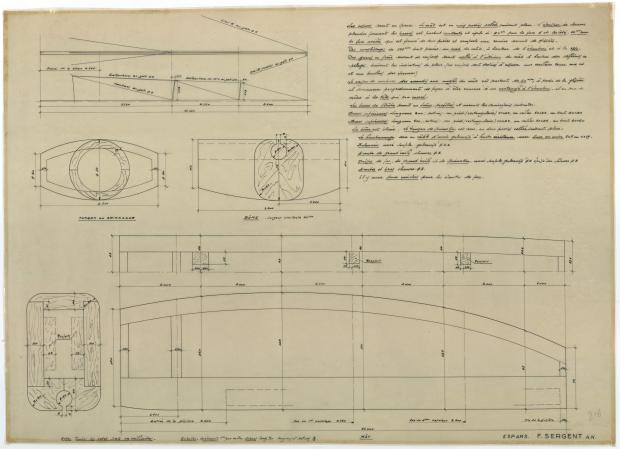 PLAN DE CONSTRUCTION - JUMBO (1951)