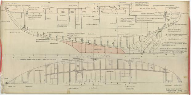 PLAN DE CONSTRUCTION - BLEIZ MOR (1952)