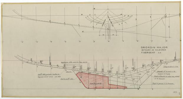 PLAN DE CONSTRUCTION - GRONDIN MAJOR (1952)