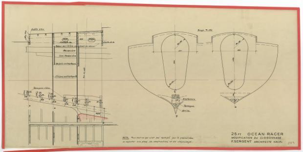 PLAN DE CONSTRUCTION - AQUILON (1952)