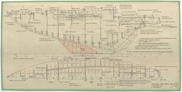PLAN DE CONSTRUCTION - MELUSINE   (1953)