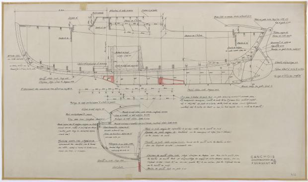 PLAN DE CONSTRUCTION - CANCHOIS (1956)