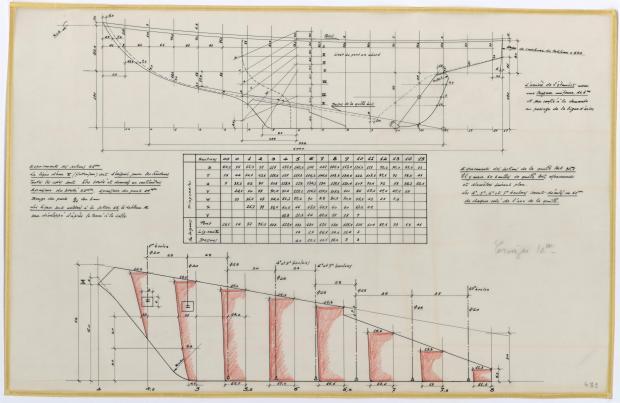 PLAN DE CONSTRUCTION - CRUISER de 10 m (1956)