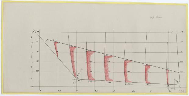 PLAN DE DERIVE/QUILLE - ELOISE II (1957)