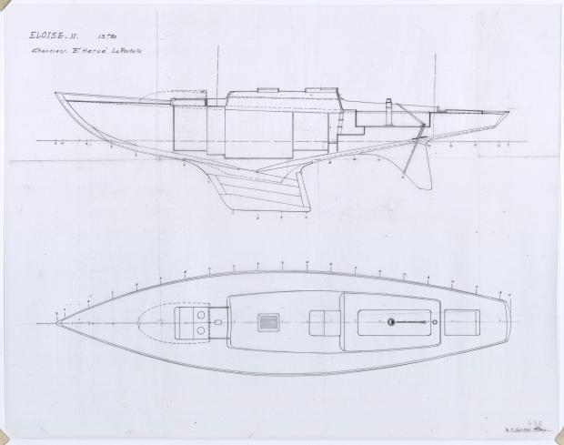 PLAN GENERAL - ELOISE II (1957)