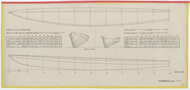 PLAN DE CONSTRUCTION - AOUFFA II 14 m   (1958)
