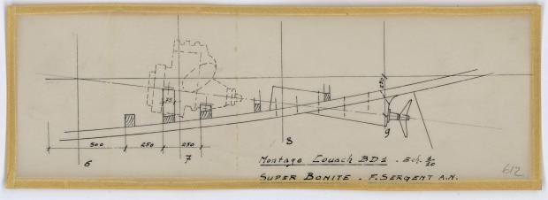 PLAN DE CONSTRUCTION - SUPER BONITE 8,50 m (1959)