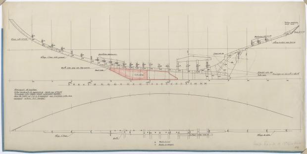 PLAN DE CONSTRUCTION - CRUISER RAPIDE DE 13,75 m à dérive (1959)