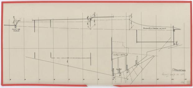 PLAN D'AMENAGEMENT  - BIMBAM CRUISER RAPIDE DE 12 m (1959)