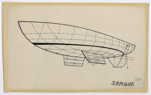 PLAN DE COQUE - SARGUE    (1960)