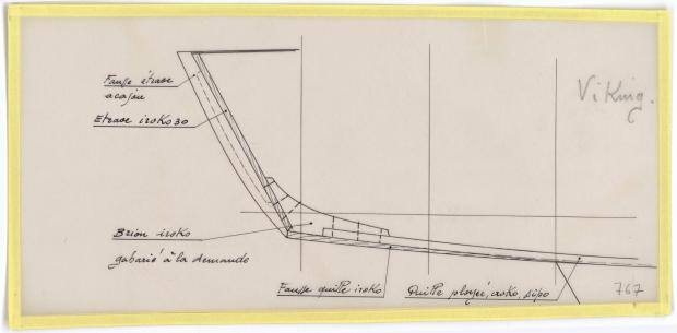 PLAN DE CONSTRUCTION - VICKING  5,90 m (1960)