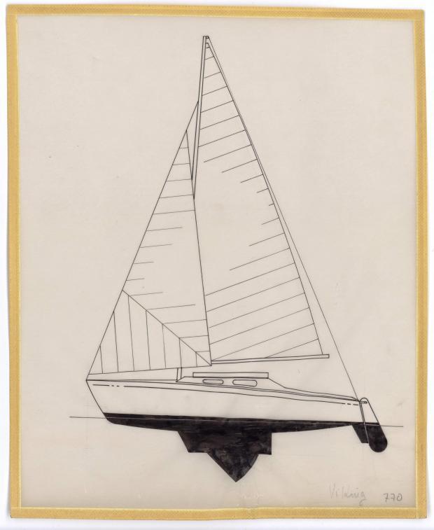 PLAN GENERAL - VICKING  5,90 m (1960)