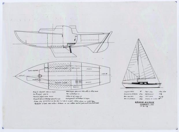 PLAN GENERAL - LE GRAND SARGUE  (1961)