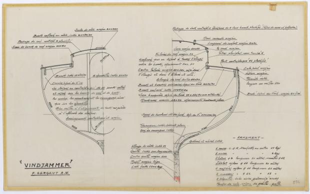 PLAN DE CONSTRUCTION - WINDJAMMER  10 M (1962)