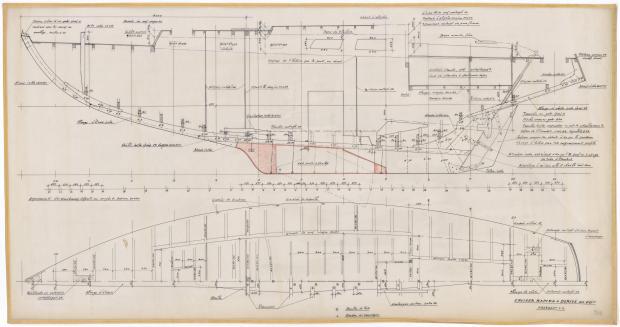 PLAN DE CONSTRUCTION - CRUISEUR RAPIDE 10 M (1963)