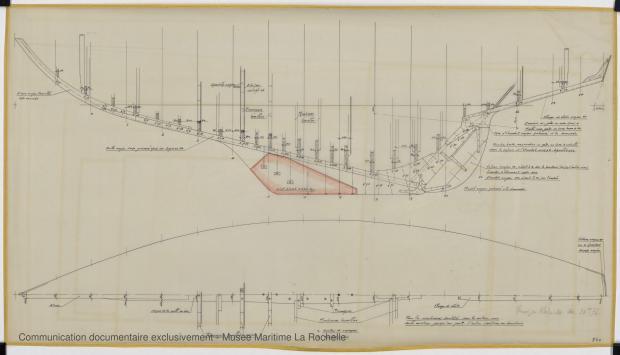 PLAN DE CONSTRUCTION - Croiser rapide 10,75 m (1964)