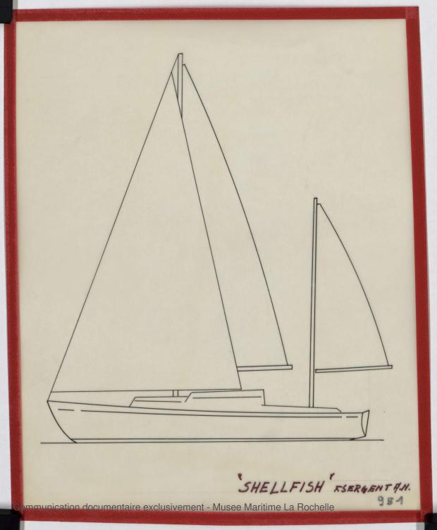 PLAN GENERAL - Shelfish  8,75 M (1965)