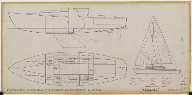 PLAN GENERAL - Shelfish  8,75 M (1965)
