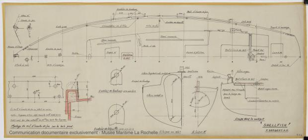 PLAN DE PONT - Shelfish  8,75 M (1965)