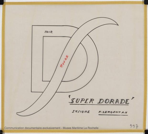 ETIQUETTE - Super Dorade    (1965)