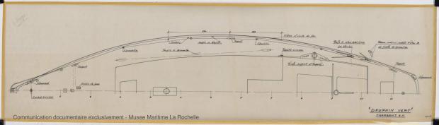 PLAN DE PONT - Dauphin vert  10,00 m (1966)