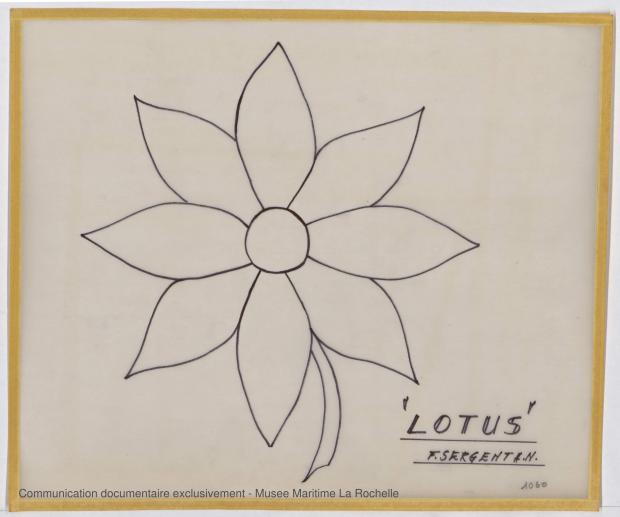 ETIQUETTE - Lotus  7,50 m  (1966)