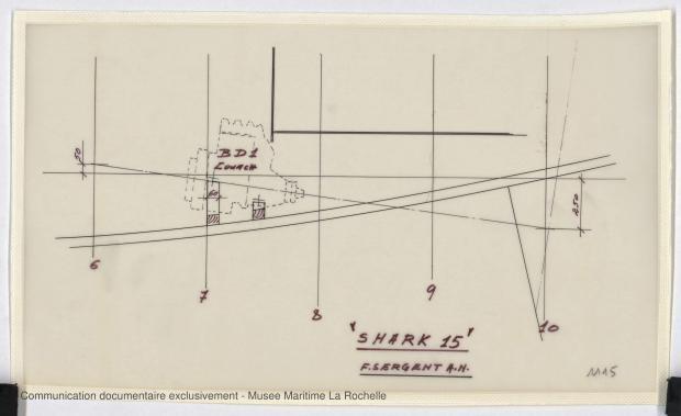 PLAN DE CONSTRUCTION - Shark (minishark) & Squale  9 m (1967)