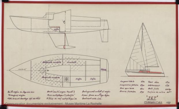 PLAN GENERAL - Jet  5,90 m (1968)