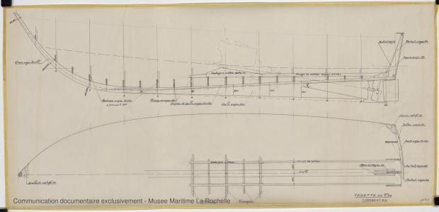 PLAN DE CONSTRUCTION - Fisherman 9,50 Vedette (1969)