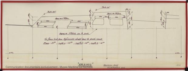 PLAN DE CONSTRUCTION - Pegasus, Aramis, Multimar. 9,50 m (1970)