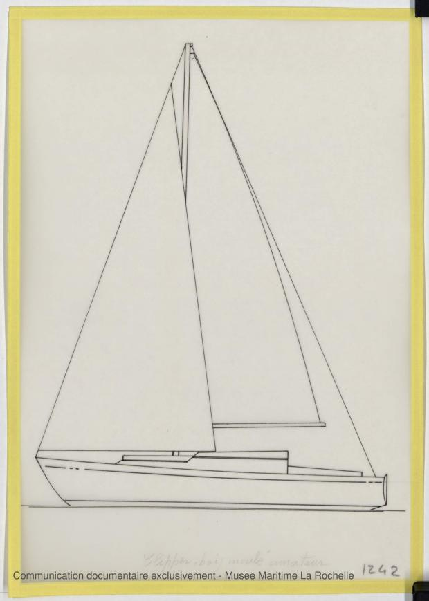PLAN GENERAL - Clipper II 9 m (1970)