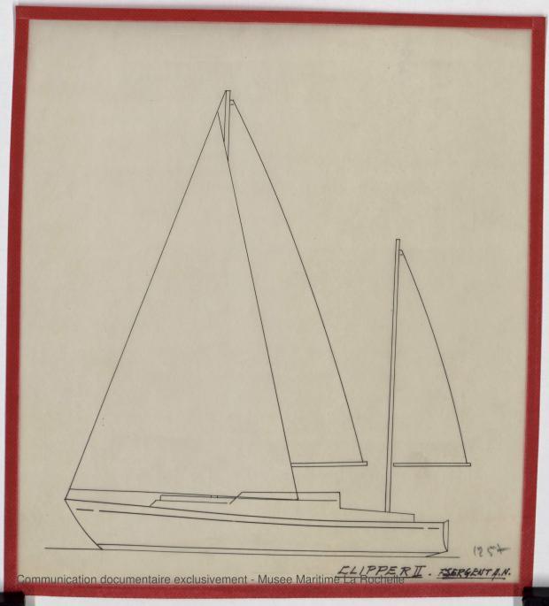 PLAN GENERAL - Clipper II 9 m (1970)
