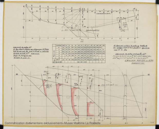 PLAN DE CONSTRUCTION - Agami II Cruiser rapide 10,65 m (1970)