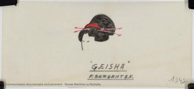 ETIQUETTE - Geisha 5,75 m (1972)