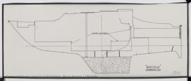 PLAN DE CONSTRUCTION - Daïmio 7 m (1972)