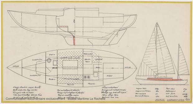 PLAN GENERAL - Morse, Cruiser 10,20 m (1973)