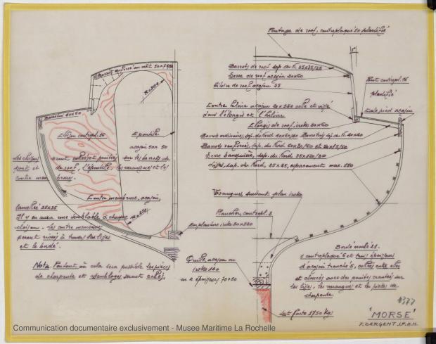 PLAN DE CONSTRUCTION - Morse, Cruiser 10,20 m (1973)