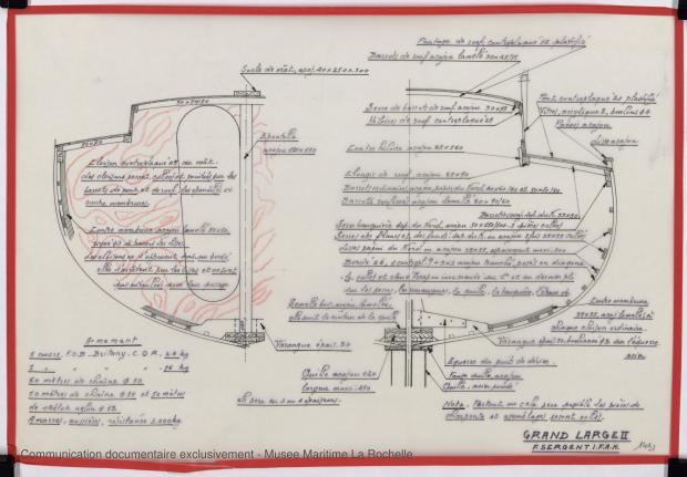 PLAN DE CONSTRUCTION - Grand Large 2    (1975)