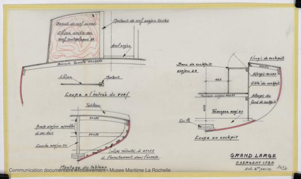 PLAN DE CONSTRUCTION - Grand Large  (1975)