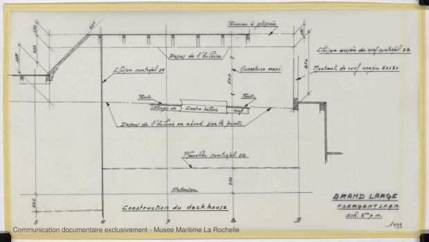 PLAN DE CONSTRUCTION - Grand Large  (1975)