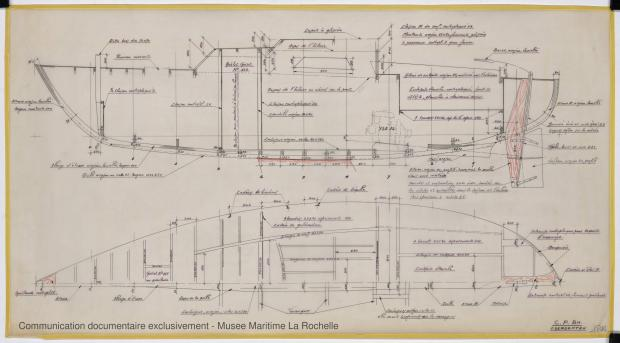 PLAN DE CONSTRUCTION - Otarie  8,00 m (1976)