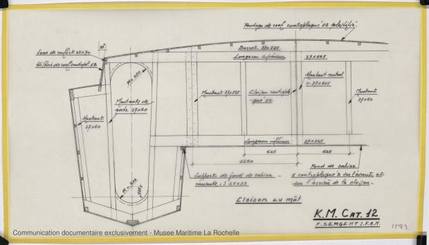 PLAN DE CONSTRUCTION - K.M. Cat 12 (1977)