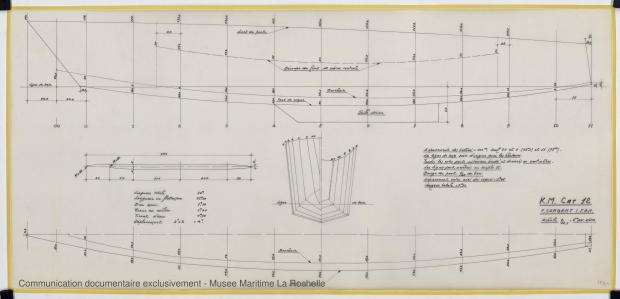 PLAN DE CONSTRUCTION - K.M. Cat 12 (1977)